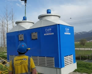 Water Cooling tower types