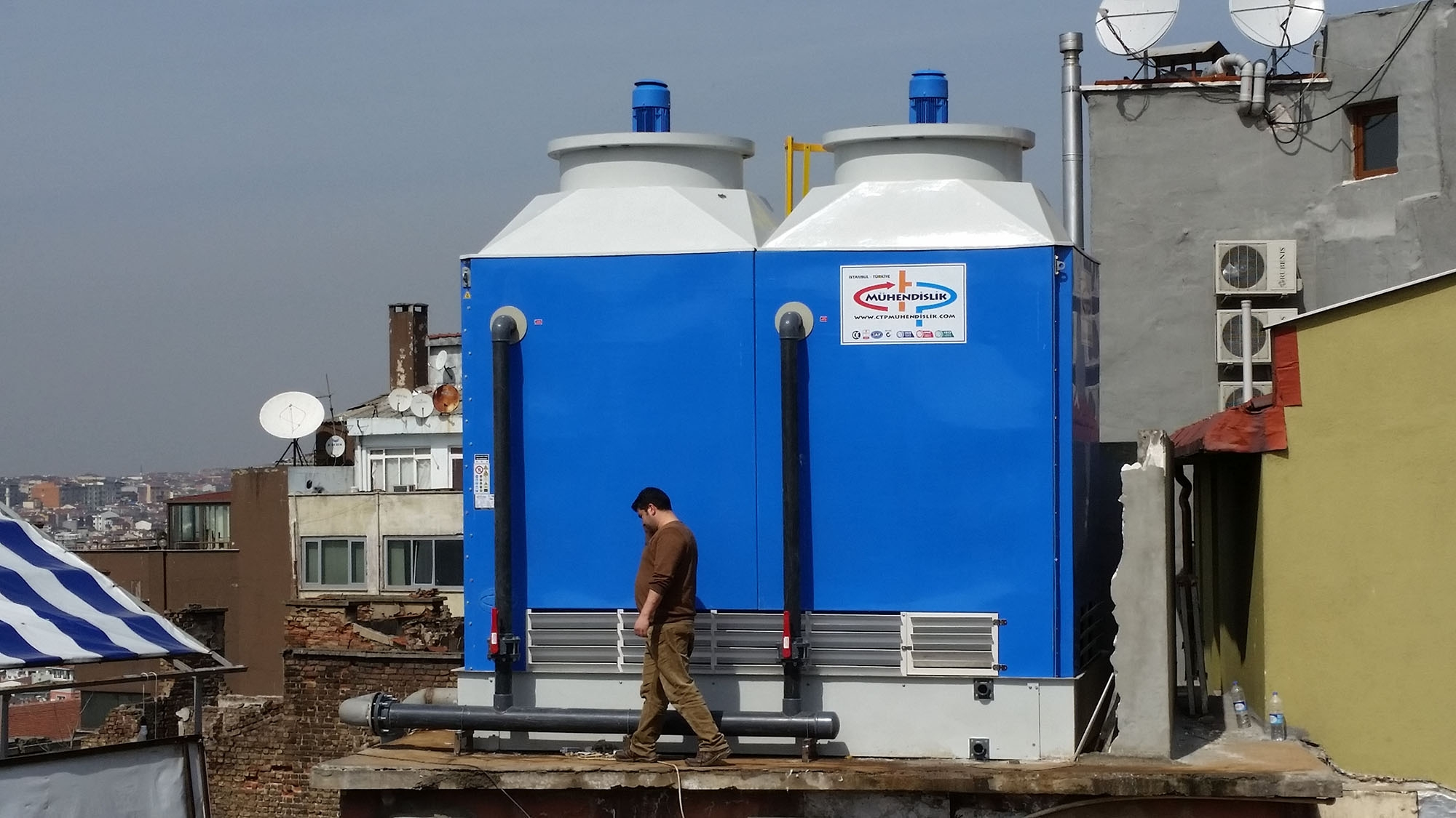 Water Cooling Tower Design, Manufacture, Assembly and Spare Parts