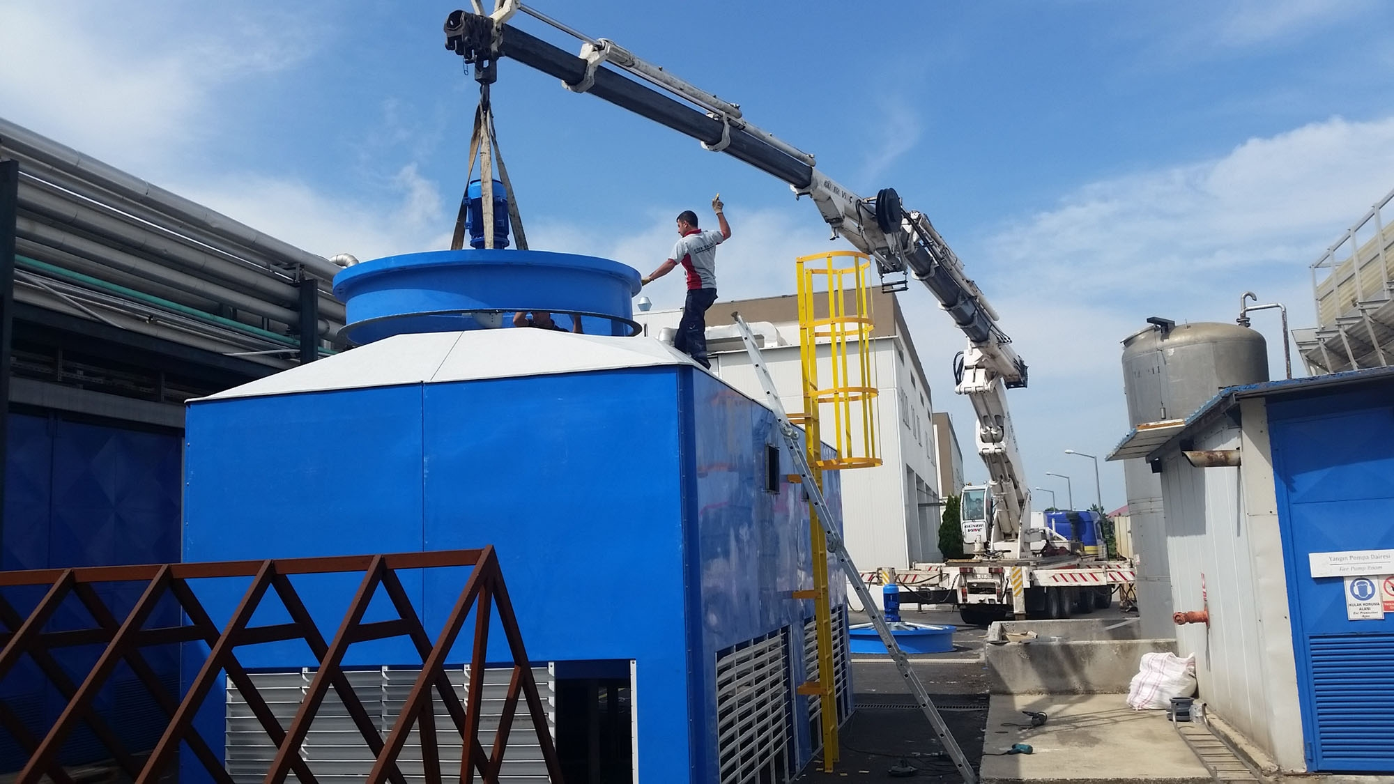 Shipping  Cooling Tower,Process  Cooling Tower,Shipping Process,Cooling Tower,