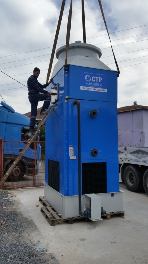 Syria water cooling tower works