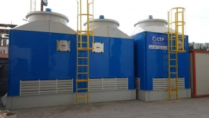 Certified wet cooling tower Greece