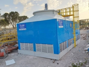 Installation of Cooling Tower in Macedonia